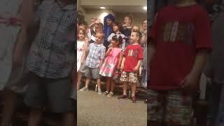 Preschool ceremony