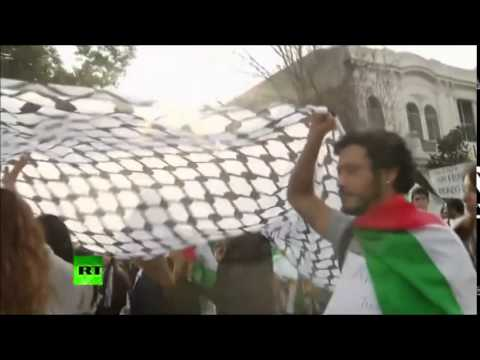 THOUSANDs hit Streets WORLDWide to DEMAND End to GAZA VIOLENCE