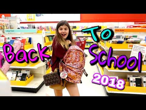 Back to school 2018 America Канцелярский рай для школы Самая крутая канцелярия Shopping в Америке