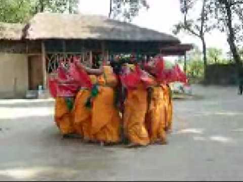 Bodo traditional dance in Assam