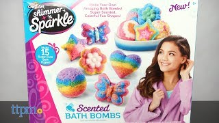 Shimmer 'n Sparkle Scented Bath Bombs from Cra-Z-Art