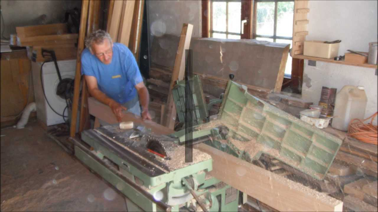 Fabrication d 39 une table monast re youtube - Fabrication d une table ...