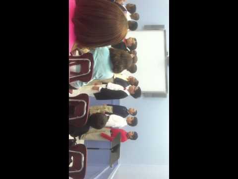 Newark Boys Chorus School: Apprentice Chorus - November `12 rehearsal for parents - 06/25/2013