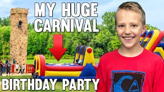 HUGE Carnival 11th Birthday Party