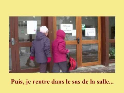 Explication stage de ski Petits Malins