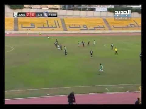 اهداف مباراة الأنصار والأجتماعي طرابلس 5-12-2012