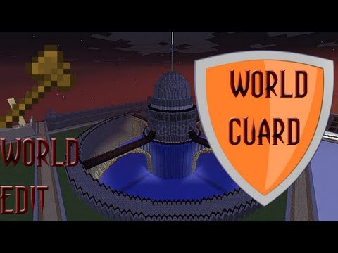 Worldguard / Worldedit Minecraft 1.7.10 Tutorial