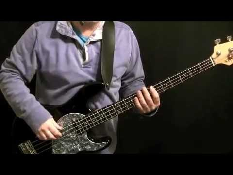 How To Play Bass Guitar -Ain't No Stopping Us Now- McFadden & Whitehead