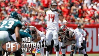Tampa Bay Buccaneers are Ryan Fitzpatrick