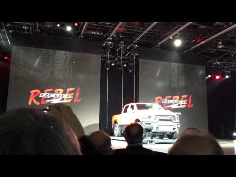 RAM 1500 Rebel reveal at the 2015 North American International Auto Show - RAM Trucks NAIAS 2015