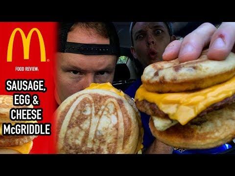 McDonald's McGriddle Food Review   Season 4. Episode 34