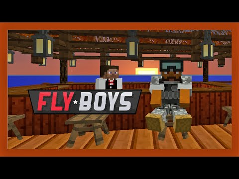 Flyboys Modded Minecraft 25 :: Cubeycabana (+ Aircraft Carrier Start)