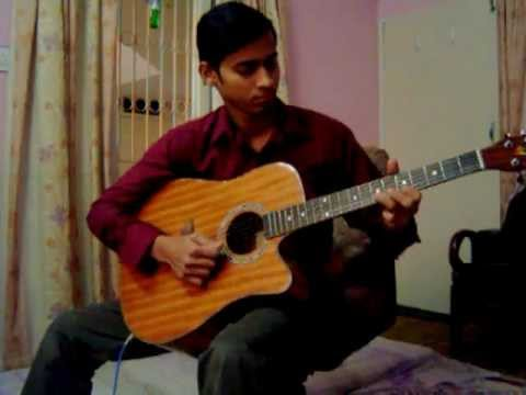 dil ki lagi kuch aur bhi on guitar by Muzammil