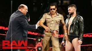 WWE Meets Bollywood Mashup Video | Ft.Salman Khan,Sonu Sood,Finn Bálor and Paul Heyman..