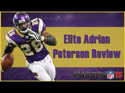 Madden 15 Ultimate Team   Elite Adrian Peterson Review