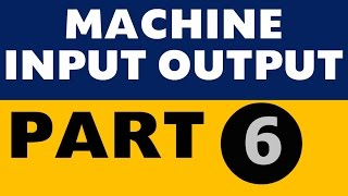 Machine Input Output Part 6 Double Shift IBPS PO SBI Clerk SO LIC All Banking exams