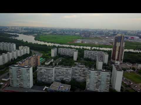 DJI Mavic - В Москве высоко опасно Строгино