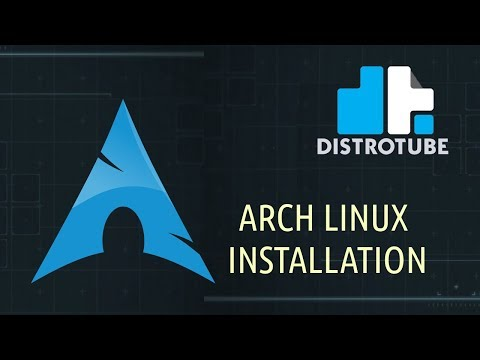 Arch Linux Installation Tutorial