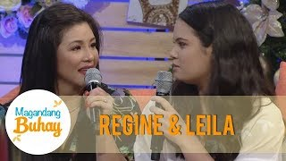 Magandang Buhay Regine Reveals That Michelle Is A Fan Of Her As A Singer