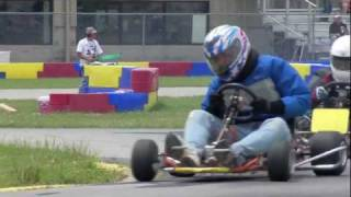Vintage Karts at 2011 New Castle VKA event - NCMP