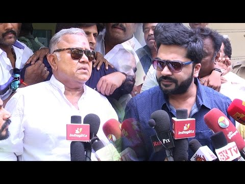 Radha Ravi speech : Vishal Team Jobless now, They're doing this for entertainment | Simbu