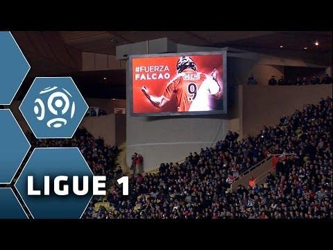 AS Monaco's Tribute to INJURED Radamel Falcao - Ligue 1 W22 - 2013/2014