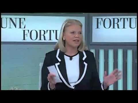 IBM s Ginni Rometty on taking risks