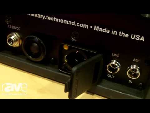 InfoComm 2016: Technomad Introduces DragonFly Portable PA