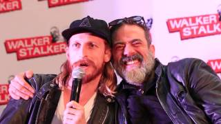 WSC London 2017 - The Saviors about wieners, JDM about playing Negan, Ann Mahoney & the Gov