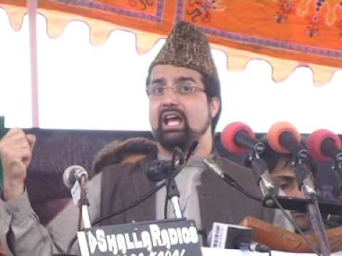 mirwaiz umar Farooq at eidgah 21 may 2009