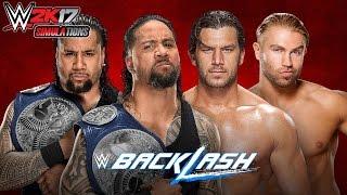 WWE 2K17 - BACKLASH 2017: The Usos vs Breezango