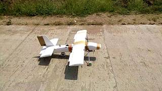 Rc aircraft || aeroplane build video and test flight.