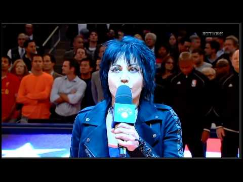 Joan Jett - The National Anthem 2014