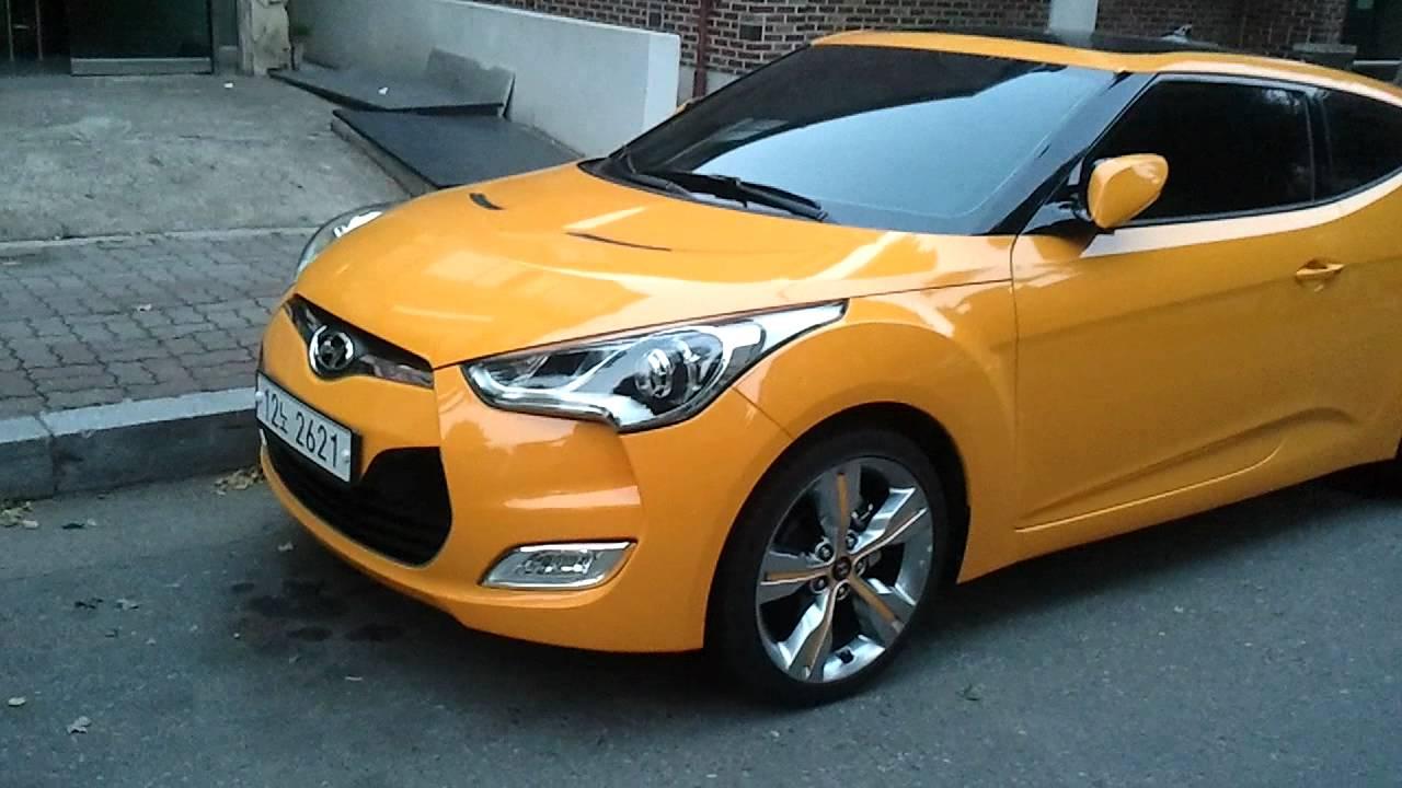 Hyundai Veloster Yellow Youtube