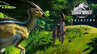 Species Profile : Parasaurolophus   Jurassic World Evolution