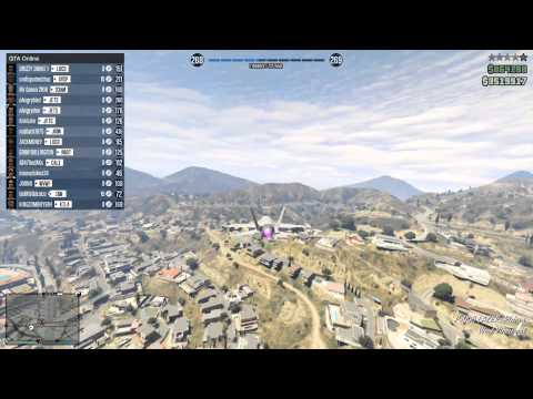 Hilarious lobby getting griefed by a n***a in a jet