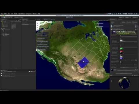 World Political Map V2 PREVIEW (Beta 1)
