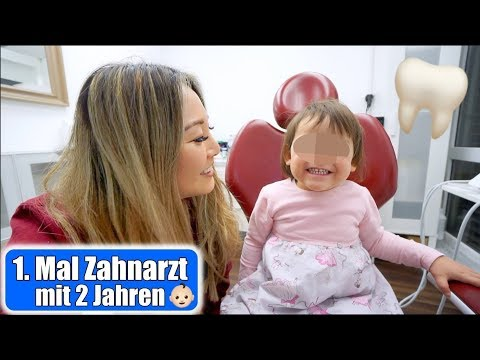 Elisas 1. Mal beim Zahnarzt