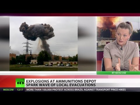 Arsenal Inferno: Explosions at ammo depot spark mass evacuation in Russia
