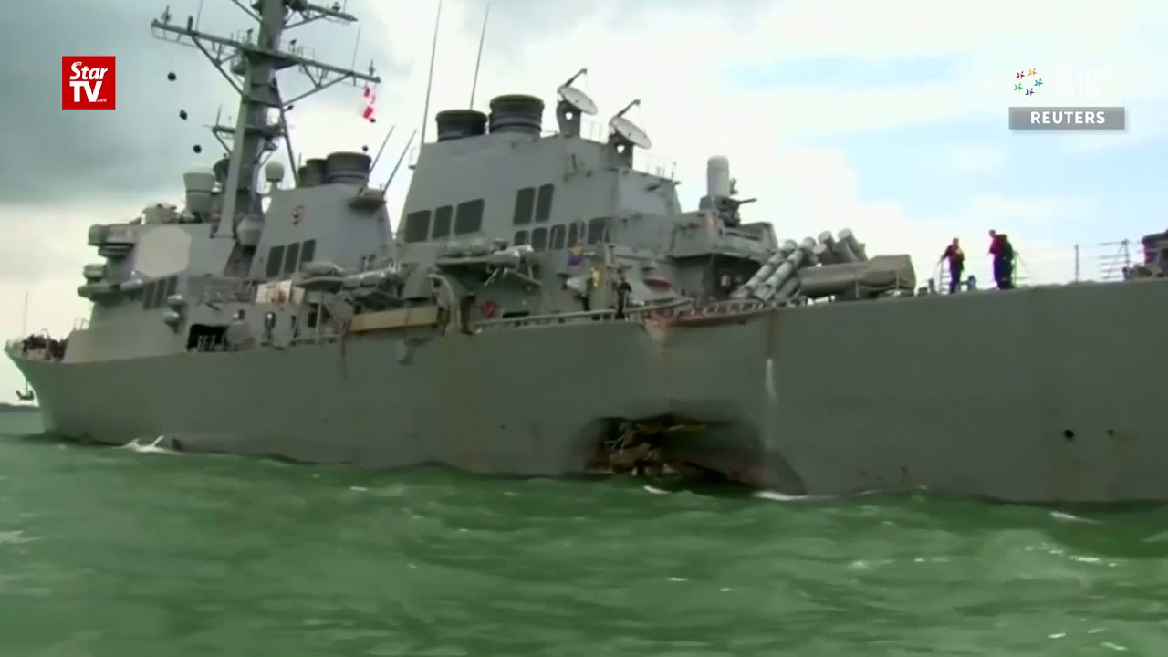 U.S. Navy recovers remains of all sailors missing after USS McCain collision