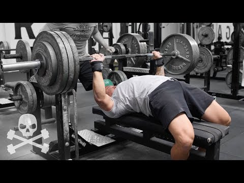 BENCH MAX OUT!