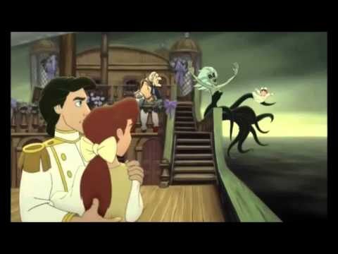 The Little Mermaid Ii: Return To The Sea - Attack Of Morgana (scene) - Latin Spanish video