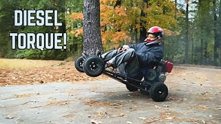 Diesel Go Kart Build! | We Bought the CHEAPEST Diesel on eBay!