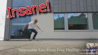 16 of the Hardest Flatground Skateboarding Tricks Ever!!! Pressure Flip Late Laser Flip