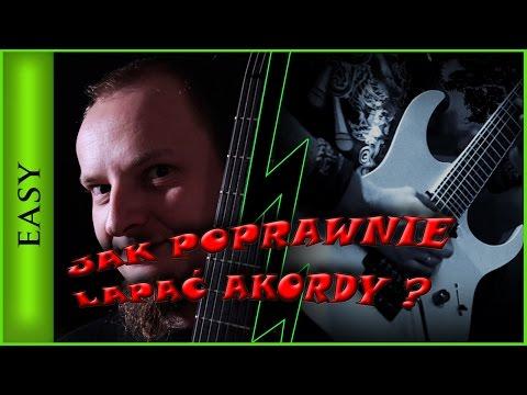 Jak Grać Akordy ? Granie - łapanie Akordów Lekcja Gry Na Gitarze - Granie Akordami