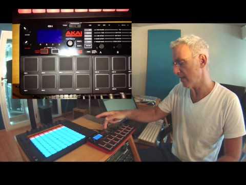 Mario Siperman LFC - Presentando el nuevo AKAI MPX16