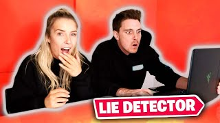 Lie Detector Challenge With Lazarbeam!
