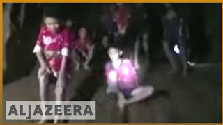 🇹🇭 Thai boys trapped in cave for more than a week found alive | Al Jazeera English