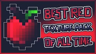 🔥BEST RED TEXTURE PACK OF ALL TIME [16X]🔥