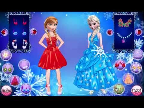 Juego Disney Frozen Girls Dress Up